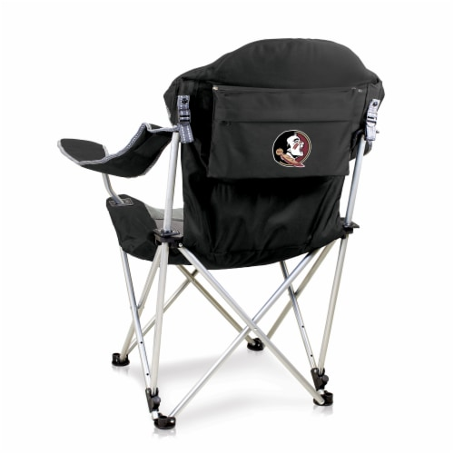 Florida State Seminoles - Reclining Camp Chair Perspective: front