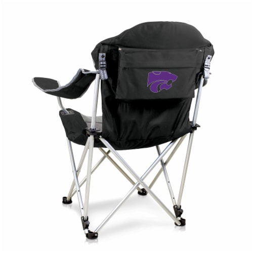 Kansas State Wildcats - Reclining Camp Chair Perspective: front