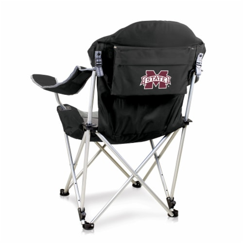 Mississippi State Bulldogs - Reclining Camp Chair Perspective: front