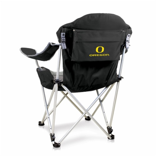 Oregon Ducks - Reclining Camp Chair Perspective: front