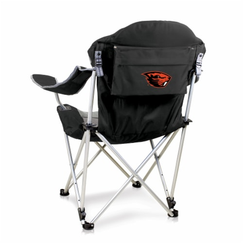 Oregon State Beavers - Reclining Camp Chair Perspective: front