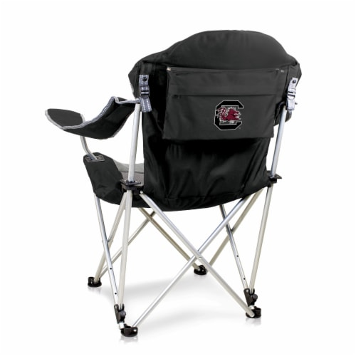 South Carolina Gamecocks - Reclining Camp Chair Perspective: front