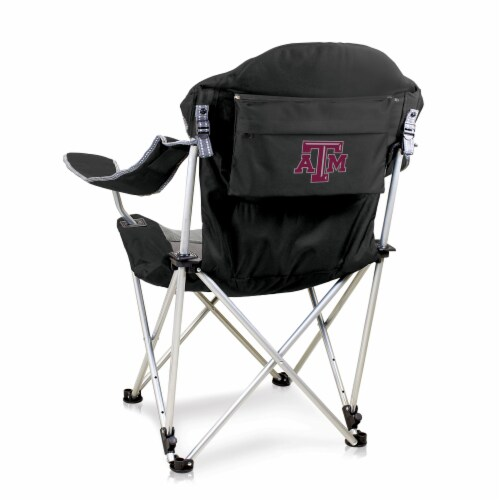 Texas A&M Aggies - Reclining Camp Chair Perspective: front