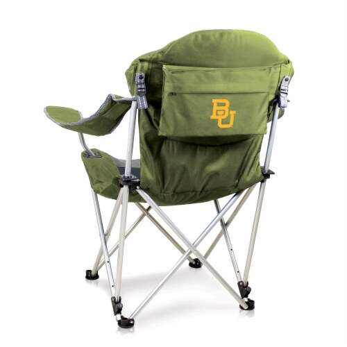Baylor Bears - Reclining Camp Chair Perspective: front
