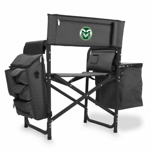 Colorado State Rams - Fusion Backpack Chair with Cooler Perspective: front