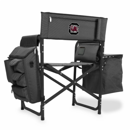 South Carolina Gamecocks - Fusion Backpack Chair with Cooler Perspective: front