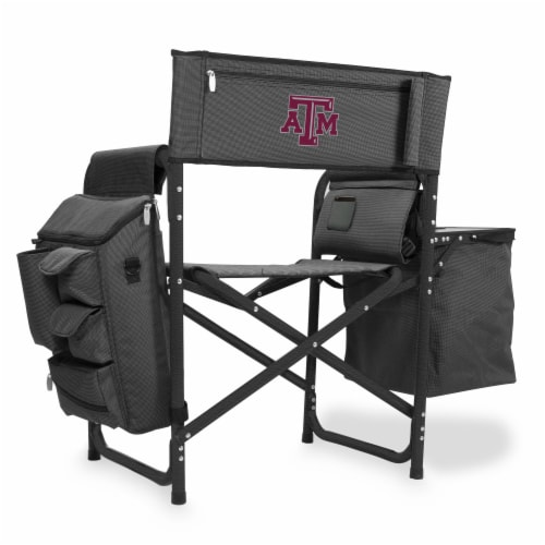 Texas A&M Aggies - Fusion Backpack Chair with Cooler Perspective: front