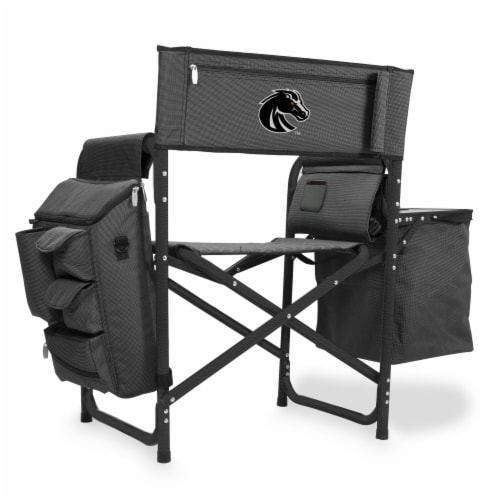Boise State Broncos - Fusion Backpack Chair with Cooler Perspective: front