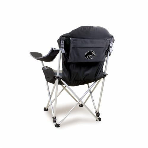 Boise State Broncos - Reclining Camp Chair Perspective: front
