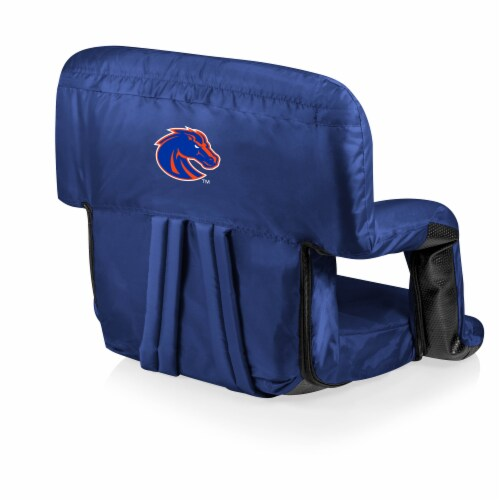 Boise State Broncos - Ventura Portable Reclining Stadium Seat Perspective: front