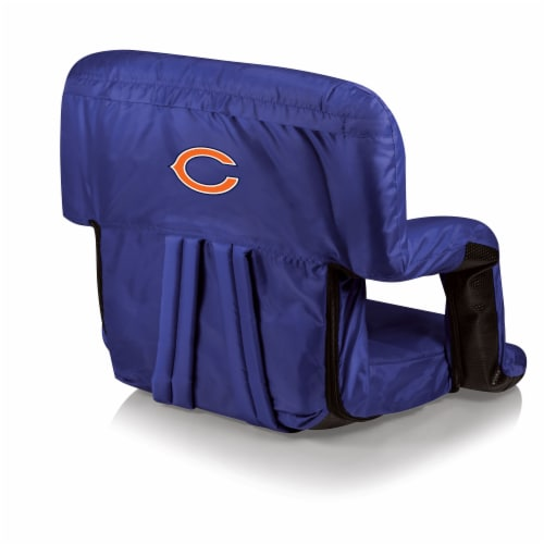Chicago Bears - Ventura Portable Reclining Stadium Seat Perspective: front