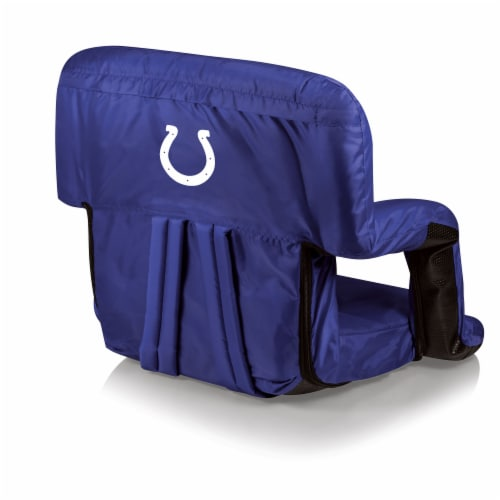Indianapolis Colts - Ventura Portable Reclining Stadium Seat Perspective: front