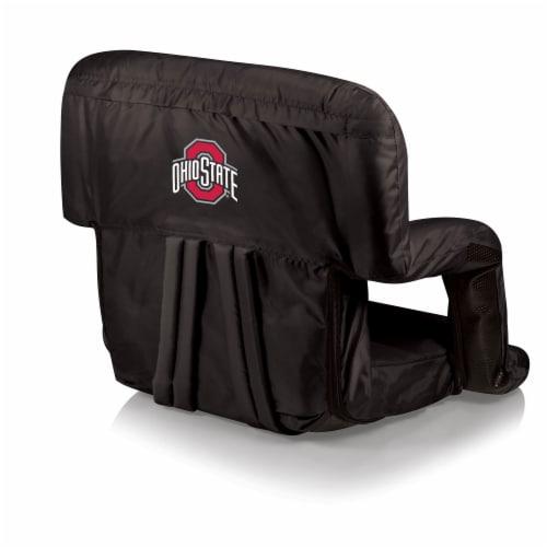 Ohio State Buckeyes - Ventura Portable Reclining Stadium Seat Perspective: front