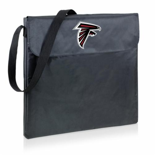 Atlanta Falcons - X-Grill Portable Charcoal BBQ Grill Perspective: front