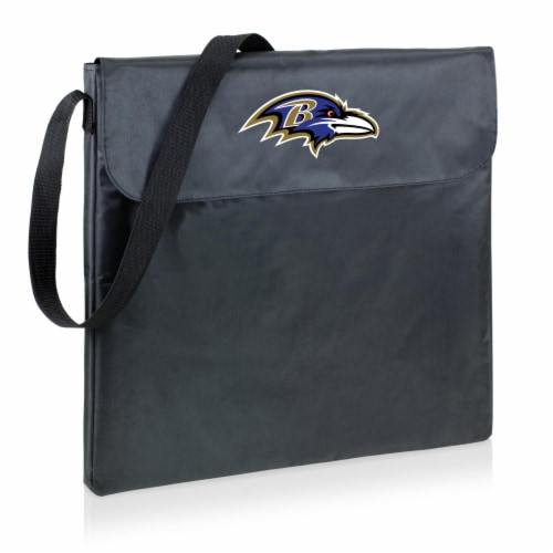 Baltimore Ravens - X-Grill Portable Charcoal BBQ Grill Perspective: front