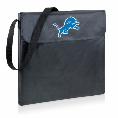 Detroit Lions - X-Grill Portable Charcoal BBQ Grill Perspective: front