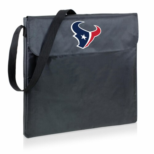 Houston Texans - X-Grill Portable Charcoal BBQ Grill Perspective: front