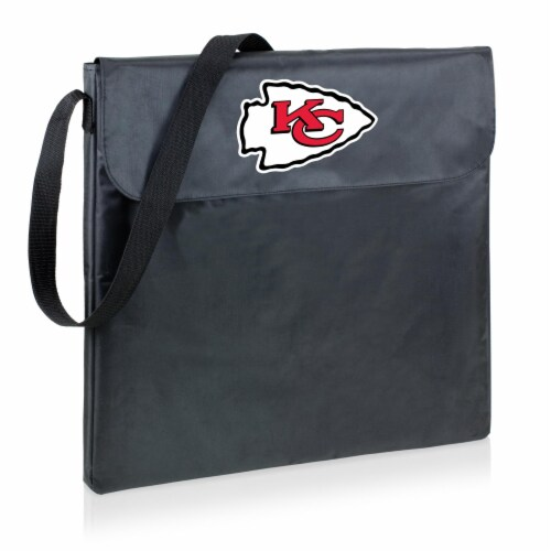 Kansas City Chiefs - X-Grill Portable Charcoal BBQ Grill Perspective: front