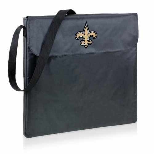 New Orleans Saints - X-Grill Portable Charcoal BBQ Grill Perspective: front
