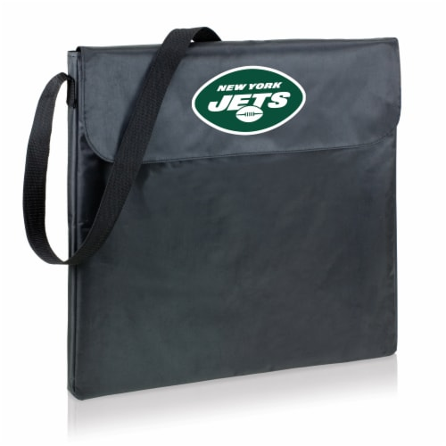 New York Jets - X-Grill Portable Charcoal BBQ Grill Perspective: front