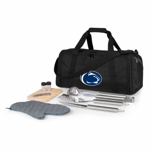 Penn State Nittany Lions - BBQ Kit Grill Set & Cooler Perspective: front