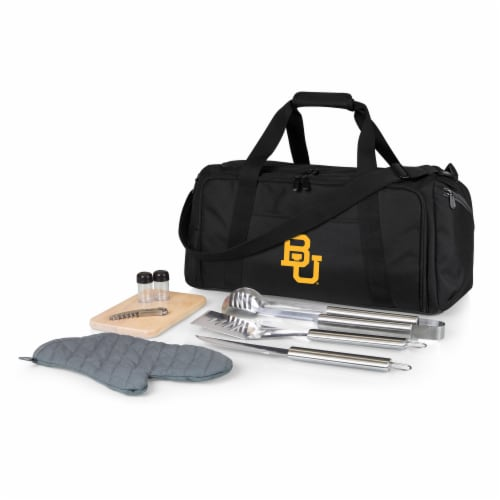Baylor Bears - BBQ Kit Grill Set & Cooler Perspective: front