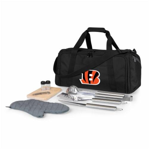 Cincinnati Bengals - BBQ Kit Grill Set & Cooler Perspective: front