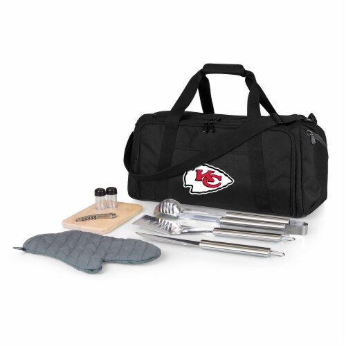 Kansas City Chiefs - BBQ Kit Grill Set & Cooler Perspective: front