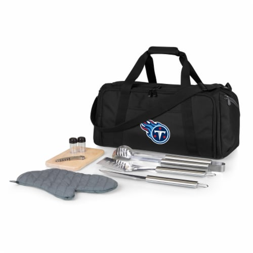 Tennessee Titans - BBQ Kit Grill Set & Cooler Perspective: front