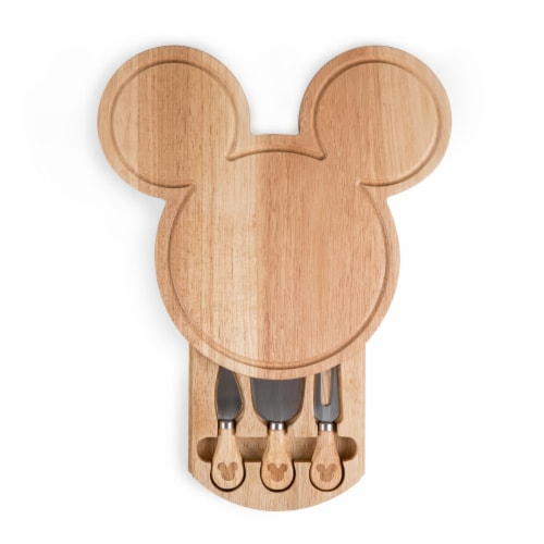 Toscana Mickey Head Shaped Cheese Board Perspective: front