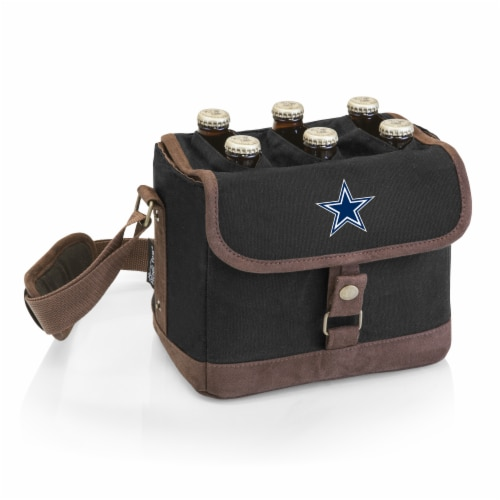 Dallas Cowboys - Beer Caddy Cooler Tote with Opener Perspective: front