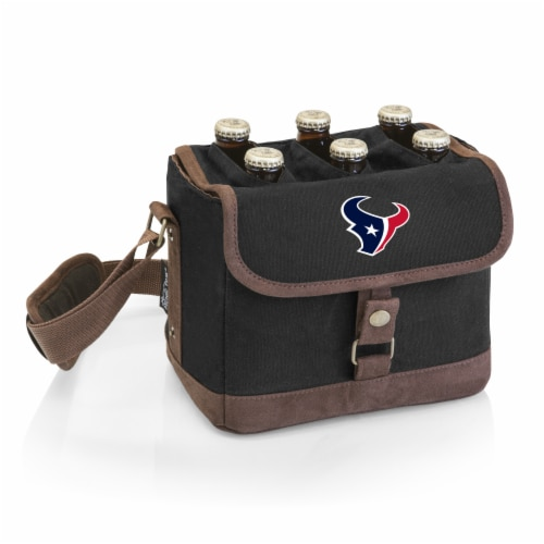 Houston Texans - Beer Caddy Cooler Tote with Opener Perspective: front