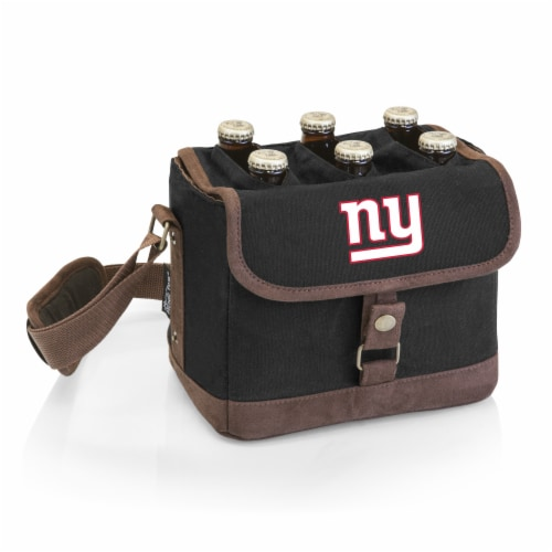 New York Giants - Beer Caddy Cooler Tote with Opener Perspective: front