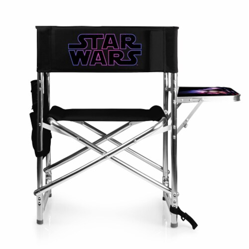Star Wars - Sports Chair, Black Perspective: front