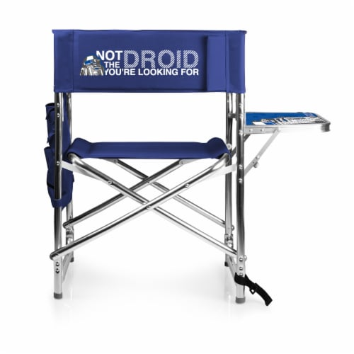 Star Wars R2-D2 - Sports Chair, Navy Blue Perspective: front