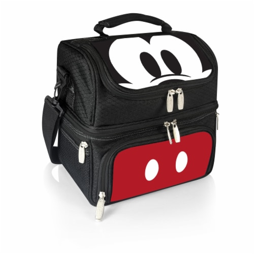Disney Mickey Mouse - Pranzo Lunch Cooler Bag, Black Perspective: front