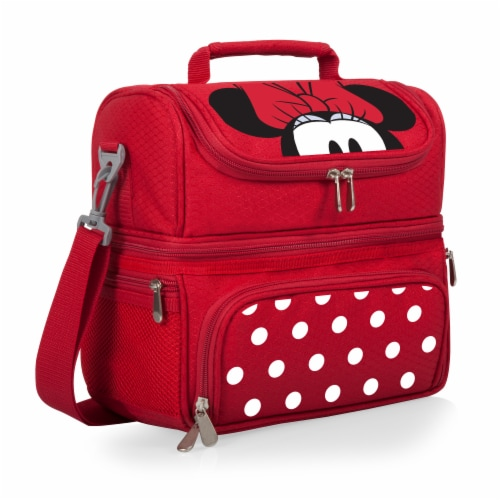 Disney Minnie Mouse - Pranzo Lunch Cooler Bag, Red Perspective: front