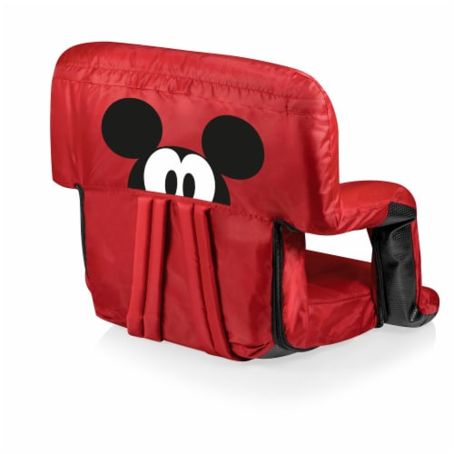 Disney Mickey Mouse - Ventura Portable Reclining Stadium Seat, Red Perspective: front