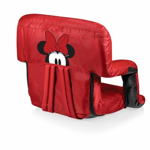 Disney Minnie Mouse - Ventura Portable Reclining Stadium Seat, Red Perspective: front