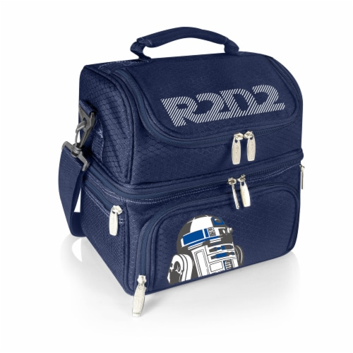 Star Wars R2-D2 - Pranzo Lunch Cooler Bag, Navy Blue Perspective: front