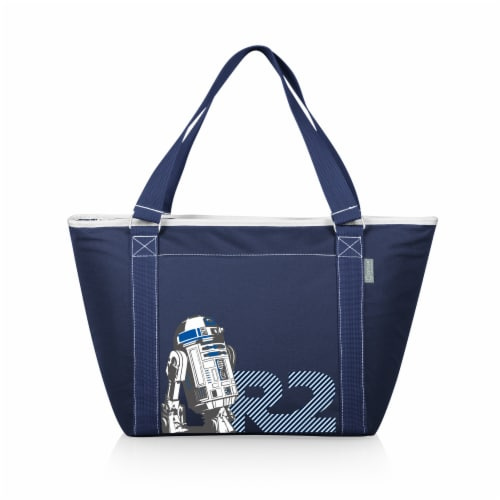 Star Wars R2-D2 - Topanga Cooler Tote Bag, Navy Blue Perspective: front