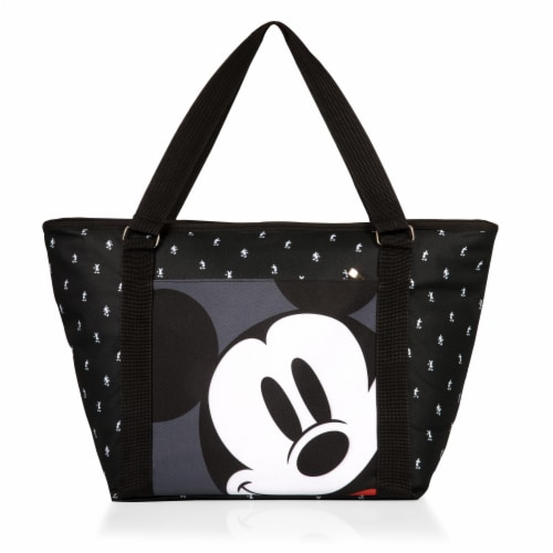 Disney Mickey Mouse - Cooler Tote Bag, Mickey Mouse Step & Repeat Pattern Perspective: front