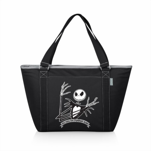 Disney Nightmare Before Christmas Jack - Topanga Cooler Tote Bag, Black Perspective: front