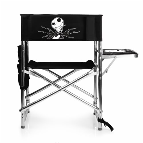 Disney Nightmare Before Christmas Jack - Sports Chair, Black Perspective: front
