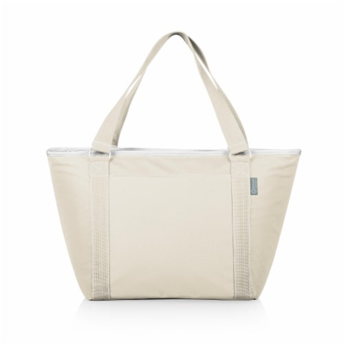 Topanga Cooler Tote Bag, Sand Perspective: front
