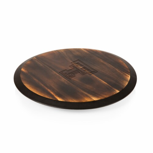 Texas Tech Red Raiders - Lazy Susan Serving Tray Perspective: front