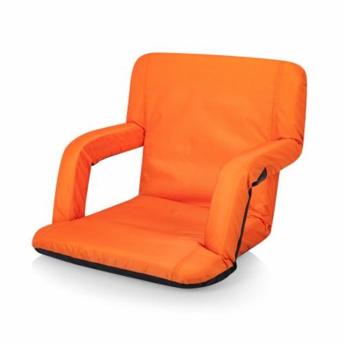 Ventura Portable Reclining Stadium Seat, Orange Perspective: front