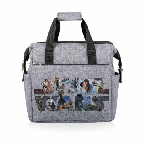 Star Wars Celebration - On The Go Lunch Cooler, Heathered Gray Perspective: front