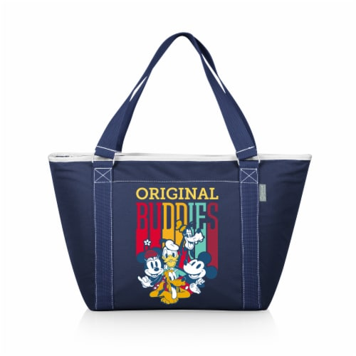 Disney Mickey Fab 5 - Topanga Cooler Tote Bag, Navy Blue Perspective: front
