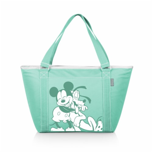 Disney Mickey & Pluto - Topanga Cooler Tote Bag, Teal Perspective: front